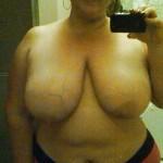 Mature bien en chair aux hanches larges nue
