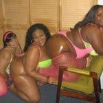 3 grosses Antillaises salopes