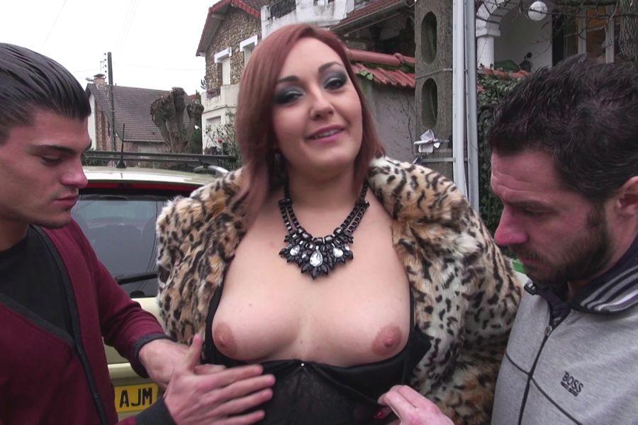 Vidéo Lili, grassouillette de Montpellier baisée par 2 mecs