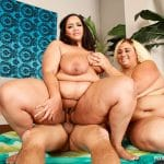 Vylette Vonne and Lovely Sillk, latines BBW en threesome