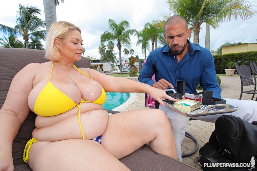 samantha 38g yellow bikini