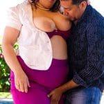 Buxom Bella salope BBW sexe avec un client
