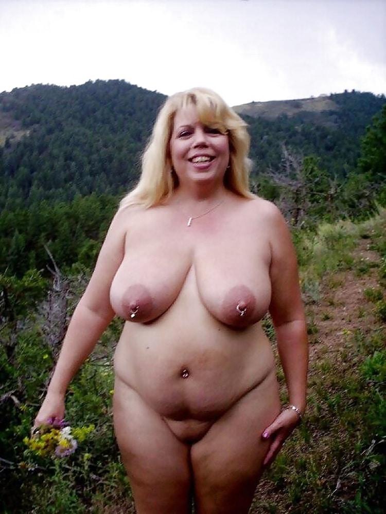Marie, MILF grassouillette naturiste 8